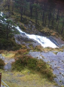 Waterfall at Snowdon