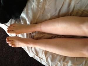 Comparing Leg size