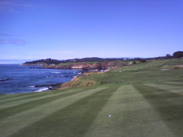 working-at-pebble-beach-week-before-the-marathon-2012