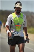 Smelling the finish! Just past Point Lobos & Monestary Beach mile 25!