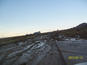Nevada mud slide! Tendon withstanding the driving test!