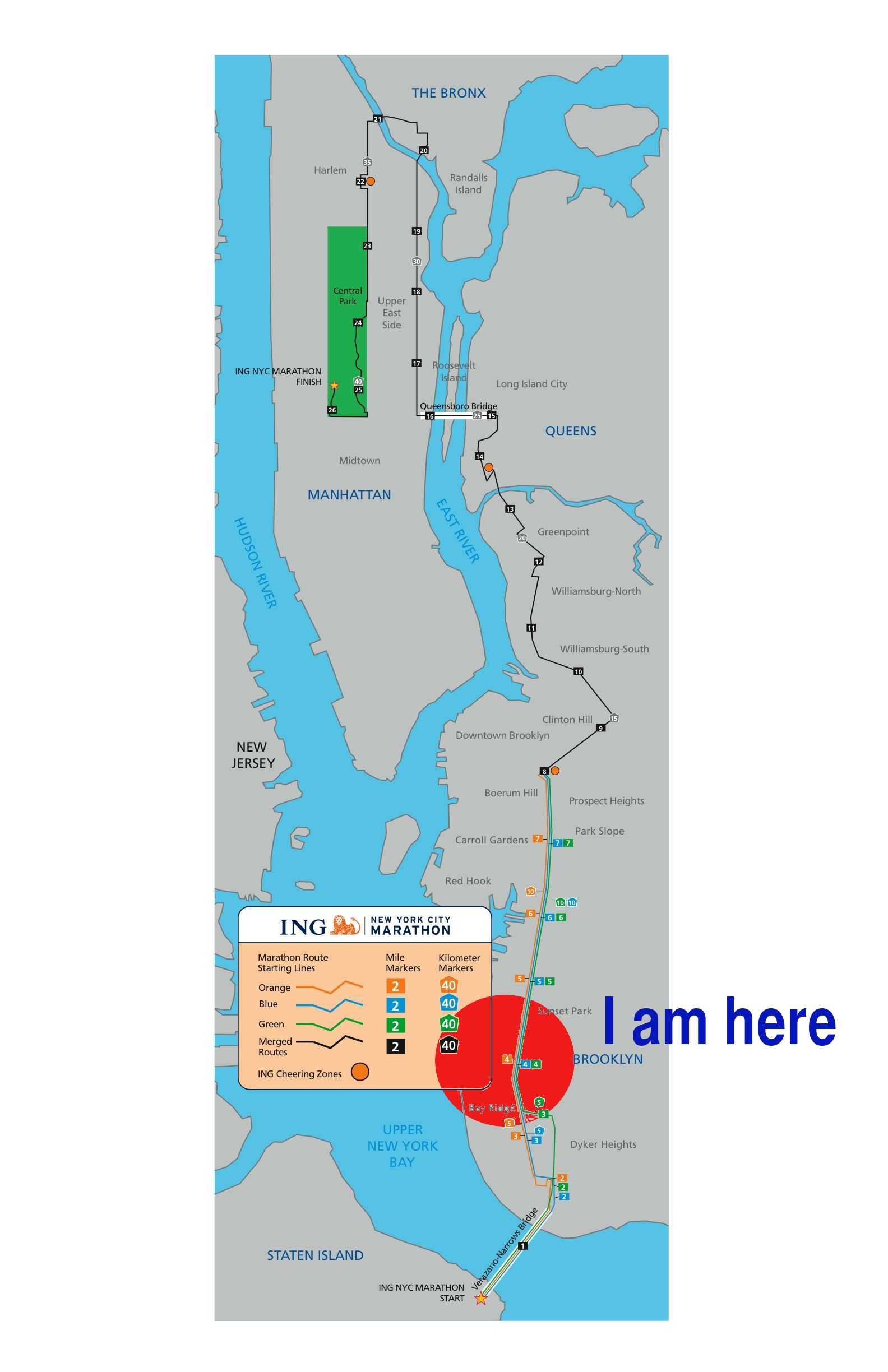 Achilles nyc marathon Analogy