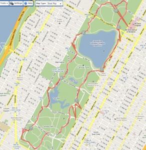 Dennis Central Park Run