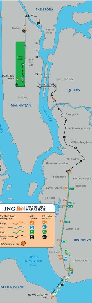 Achilles NYC Marathon Course Sidebar Image
