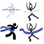 AchillesBlog Finishline Logo - First Iteration