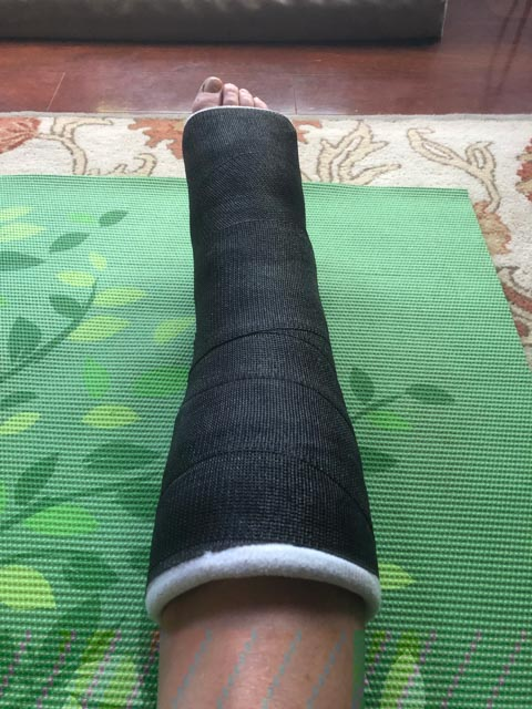 Got cast changed out to black